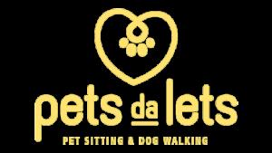Logo Amarela - Pets da Lets
